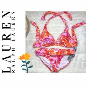 Lauren Ralph Lauren Lush Tropical Bikini Swimsuit